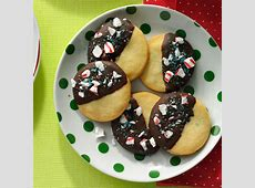 chocolate dipped shortbread_image