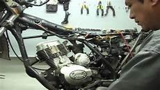 4 en 1 moto sistema electrico de moto lineal motor 150cc de 4 tiempos parte 1