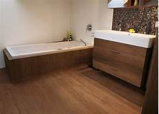 Parkett Naturholzboden Im Badezimmer Mafi