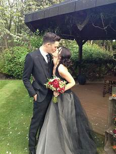the most beautiful black wedding gowns weddingbells