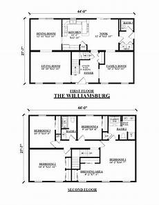 simple two story house plans two story house two story modular floor plans kintner modular homes inc
