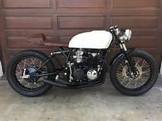 Moto Cafe Racer Granby mono shock cb550 cafe racer by alchemy motorcycles bikebound