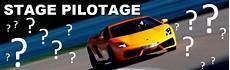 commander stage pilotage sur circuit automobile du laquais