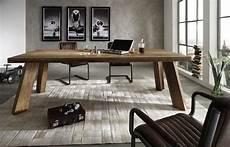tavolo per soggiorno moderno tavolo da pranzo monviso mobile legno massiccio design