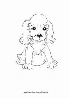 Ausmalbilder Junge Hunde Ausmalbild Kleiner Hund Sitzt Zum Ausdrucken