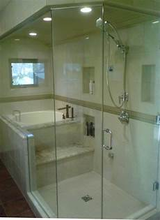 Badewanne Dusch Kombi - eugene steam shower with japanese tub contemporary