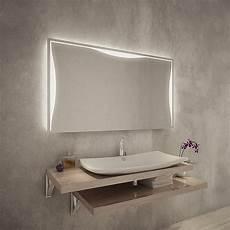 Badezimmerspiegel Mit Led Beleuchtung - badezimmerspiegel mit led beleuchtung f568l3