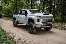 2020 gmc 2500 lifted zone offroad 5 quot ifs lift kit w fox 2 0 shocks for 2020