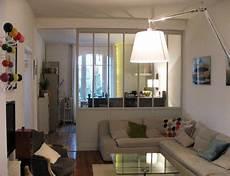 cloison vitrée cuisine s 233 paration de la cuisine par une cloison vitr 233 e bois