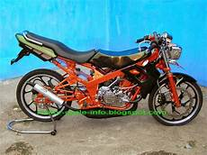 Modif Motor Supra Fit Jadi Trail by Supra Fit 2004 Modifikasi Trail Thecitycyclist