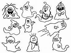 Gespenster Ausmalbilder Kostenlos Malvorlagen Geister Comic Amorphi
