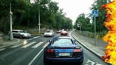 audi r8 gt acceleration exhaust sound