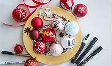 weihnachtskugeln beschriften jetzt noch sch 246 ner