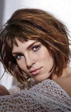 coupe cheveux femme carré coupe de cheveux femme carr 233 avec frange