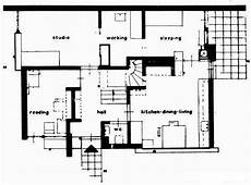 schroder house plans rietveld schroder house ground plan the great