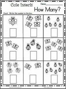 addition worksheets using pictures 9077 count the insects free math worksheet for k kindergarten math worksheets preschool