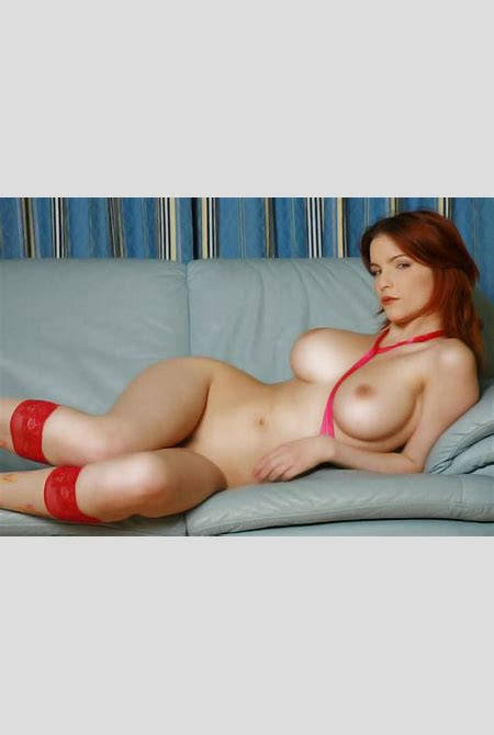 Wallpaper redhead, nude, naked, shapely, curvy, sexy, big ...