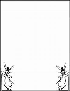 cornice per foglio a4 cornicette di pasqua tanti disegni da stare e colorare