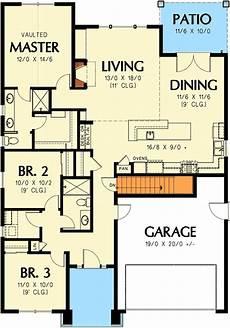 plan 89930ah 3 bedroom craftsman ranch craftsman ranch 3 bedroom craftsman ranch home plan 69554am