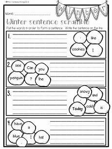 winter worksheets for 1st grade 20148 winter math and literacy no prep printables grade grade worksheets 1st grade