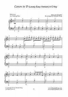 download canon in d easy piano solo with fingerings