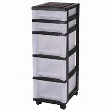 Plastic Drawers On Wheels by Drawers Storage Drawers With 5 Drawers Plastic Drawers