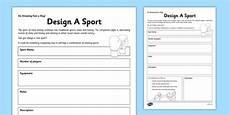 sports day worksheets ks1 15773 design a sport worksheet worksheet design a sport sport inventor fact