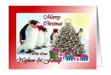 christmas cards for nephew family from greeting card universe