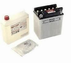 batterie type yb4l b avec acide pour scooter peugeot