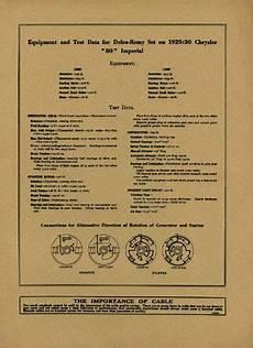 1929 chrysler model wiring diagram 1929 1930 chrysler imperial wiring diagram