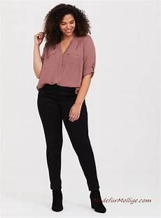 Kleider Für Mollige Junge Frauen - mode f 252 r mollige junge frauen seidenstoff pullover bluse