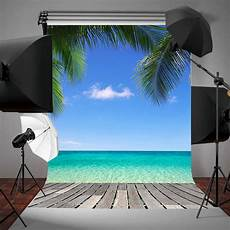 3x5ft Vinyl Summer Blue Coco by 3x5ft Vinyl Summer Blue Sky Coco Photography