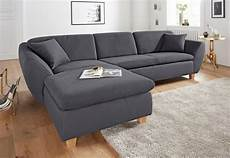 Domo Collection Ecksofa Wahlweise Mit Federkern Otto