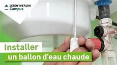Comment Installer Un Ballon D Eau Chaude 233 Lectrique