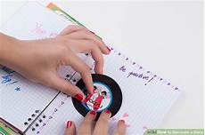 Decoration Ideas For Diary by 3 Ways To Decorate A Diary Wikihow