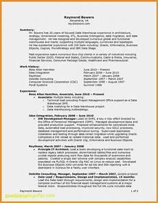 6 federal job resume sle financialstatementform