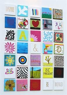 Leinwand Mit Kindern Gestalten - leinwand malen kinder basteln patchwork idee motive bunt