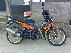 Modif Jupiter Mx 2006 by Modifikasi Cat Jupiter Mx Tahun 2006 Di Air Brush Oto Trendz