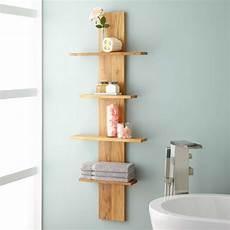 Badezimmer Regal Holz - teak wood bathroom shelves bathroom decoration plan
