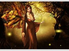 Forest Fae   Fantasy & Abstract Background Wallpapers on