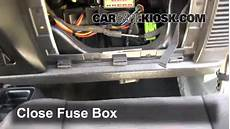 08 Jeep Wrangler Fuse Box Location by Interior Fuse Box Location 1997 2006 Jeep Wrangler 2004