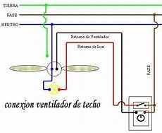 conexion y colocacion ventilador de techo