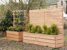 Sichtschutz Terrasse Pflanzkübel - pflanzkasten mit sichtschutz natur gartenmesse schloss