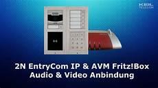 2n Entrycom Ip Mit Avm Fritz Box Und Fritz Phone C4