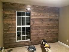 stain knotty pine to like barn originally i wanted a barn wall but then about