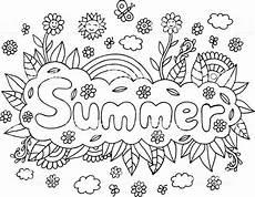 Malvorlagen Grundschule Sommer Malvorlagen F 252 R Erwachsene Mit Mandala Und Sommer Wort