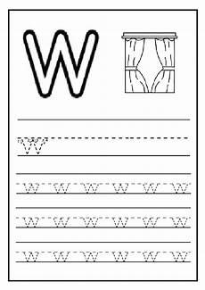 letter w worksheets for pre k 23711 lowercase letter w worksheet free printable preschool and kindergarten