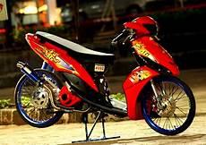 Model Modifikasi Motor 70 gambar modifikasi mio gaya thailook terbaru 2017