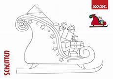 malvorlagen f 252 r weihnachten malvorlage schlitten schlitten