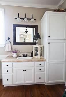 white cabinets in bathroom farmhouse bathroom reveal cedar hill farmhouse